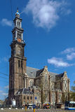 Westerkerk (Western Church), Amsterdam Royalty Free Stock Image