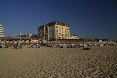westerland sylt пляжа Стоковые Изображения