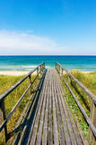 Westerland, Sylt. Gangway to the Beach - Westerland, Sylt Royalty Free Stock Photos
