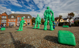Westerland, Sylt, Germany. Stock Photos