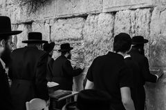 Western ściana, Jerozolima, 03 04 2015, western Ścienny Jerozolima z Zdjęcia Royalty Free