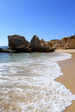 Western Algarve beach scenario, Portugal Stock Photo
