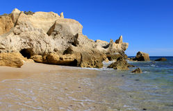 Western Algarve beach scenario, Portugal Stock Images