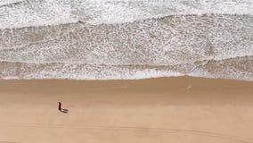 Western Algarve Cliffs Atlantic beach scenario. stock video