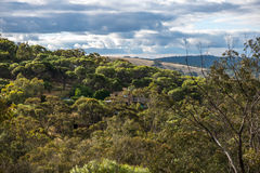 Western Australia Country. On the edge of Toodyay Country Town in the Avon River Valley of Western Australia, on Ballardong Nyoongar Aboriginal land are retreats Royalty Free Stock Image