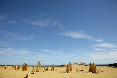 Western Australia - Pinnacles Royalty Free Stock Images