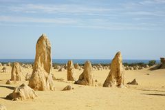 Western Australia - Pinnacles Royalty Free Stock Photos