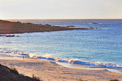 Western australian seascape at dawn Stock Image