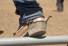 Western Boot. At the Yoncalla Rodeo on the 4th of July, NWPRA stop in this small southern Oregon town stock photos