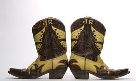 Western Boots Royalty Free Stock Photography