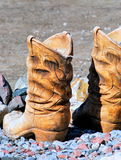 Western boots. Royalty Free Stock Image