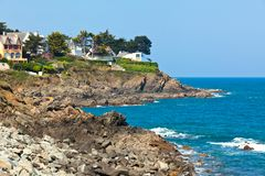 Western Brittany view Stock Image