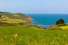 Western Brittany view Royalty Free Stock Photo