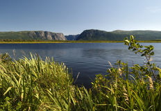 Western Brook Pond royalty free stock image