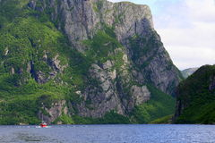 Western Brook Pond 3 Royalty Free Stock Photography