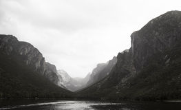Western Brook Pond Fjord Stock Photo