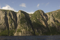Western Brook Pond Fjords Royalty Free Stock Image