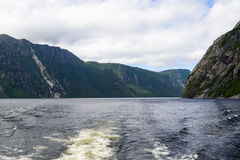 Western Brook Pond. In Gros Morne National Park, Newfoundland, Canada Royalty Free Stock Photos