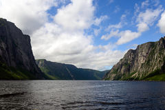 Western Brook Pond Stock Photo