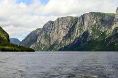 Western Brook Pond Stock Photography