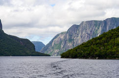 Western Brook Pond Stock Photos