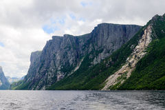 Western Brook Pond Royalty Free Stock Photos