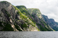Western Brook Pond Royalty Free Stock Images