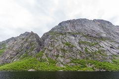 Western Brook Pond in Gros Morne National Park, Newfoundland. Located just outside of Rocky Harbour, Newfoundland, Gros Morne National Park provides spectacular Stock Images