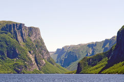 Western Brook Pond. Newfoundland, Canada Stock Images