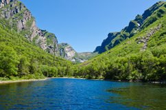 Western Brook Pond Royalty Free Stock Photo