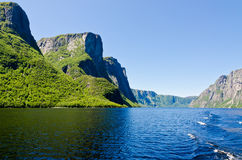 Western Brook Pond Stock Image