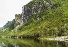 Western Brook Pond Reflections Stock Photos