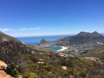 Western cape coastlines. Coast line on the western cape of South Africa Stock Images