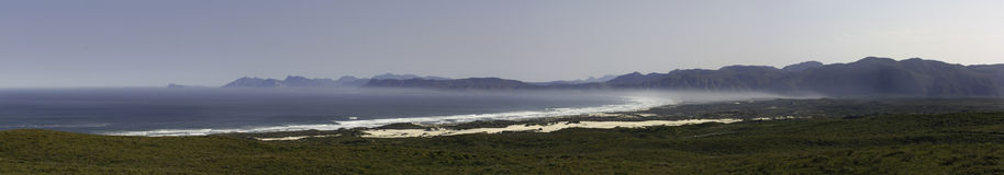 Western Cape Panoramic View Stock Image