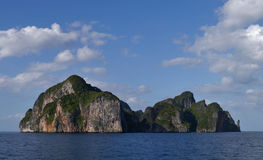 Western cape of Phi Phi Island (Thailand - Asia) Royalty Free Stock Photography