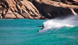 Western Cape Surfer #2 Royalty Free Stock Photo