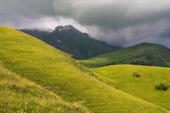 Western Caucasus. View of the Western Caucasus stock image