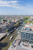 Western church in Amsterdam, Netherlands. Royalty Free Stock Images