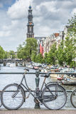 Western church in Amsterdam, Netherlands. Royalty Free Stock Photography