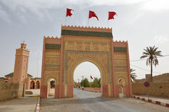 Western city gate of Rissani Stock Photography