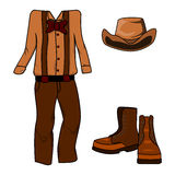 Western Clothes Royalty Free Stock Images