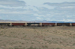 Western Coal train Royalty Free Stock Images