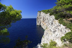 Western coast of Dugi otok Royalty Free Stock Photos