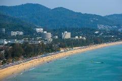 Western coastline of Phuket island Royalty Free Stock Image