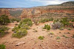 Western Colorado Landscape Royalty Free Stock Images