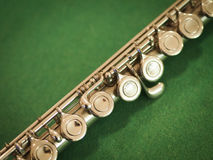 Western Concert Flute Royalty Free Stock Photos
