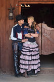 Western couple Stock Images