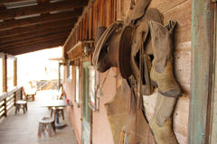 Western cowboy gear stock images