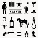 Western cowboy stock illustration