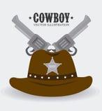 Western design, vector illustration. Stock Photo